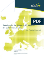 Guidelines for the Design of HE Buildings, ICT and AV Infrastructures