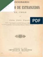 Chile, Diccionario Biografico de Extranjeros