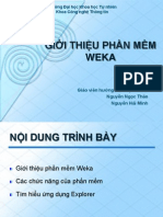 Introduction to Weka