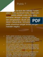 Politik Islam 1