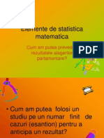 Elemente de Statistic a Mate Matic A
