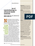 An Application of Nanotechnology in Advanced Dental Materials (1)