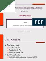 4-Soil Plasticity (Atterberg Limits)