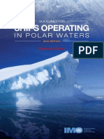 IMO Guidelines for Ships Operating in Artic Ice Covered Waters