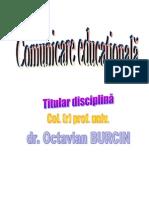 Comunicare educationala