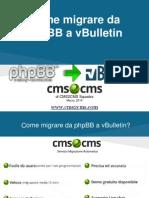 Come migrare da phpBB a vBulletin