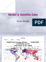 11 Model and Satellite Data