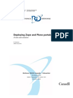 Deploying Zope and Plone Portals