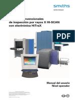Manual Maquina Rx Hitrax-operator