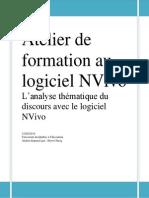 Analyse thématique du discours avec NVivo