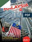 AirAsia Awesome Malaysia Travel Guide-English