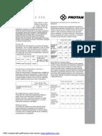 Fisa Tehnica Membrana PVC Protan
