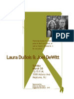 Classical Music Concert Featuring Laura DuBois & Joel DeWitt