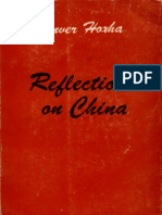 Enver Hoxha. Reflections on China. Volume I. 1962-1972