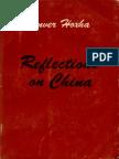 Enver Hoxha. Reflections on China. Volume II. 1973-1977