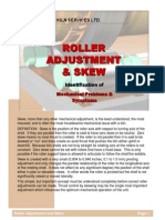 Roller Adjustment and Skew