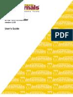 Erd 2005 User Manual
