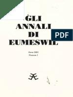 Annali Eumeswil Il Bosco