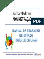 Inter 1o Periodo - ADM