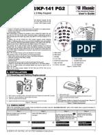 Visonic KP-140 PG2 User''s Guide