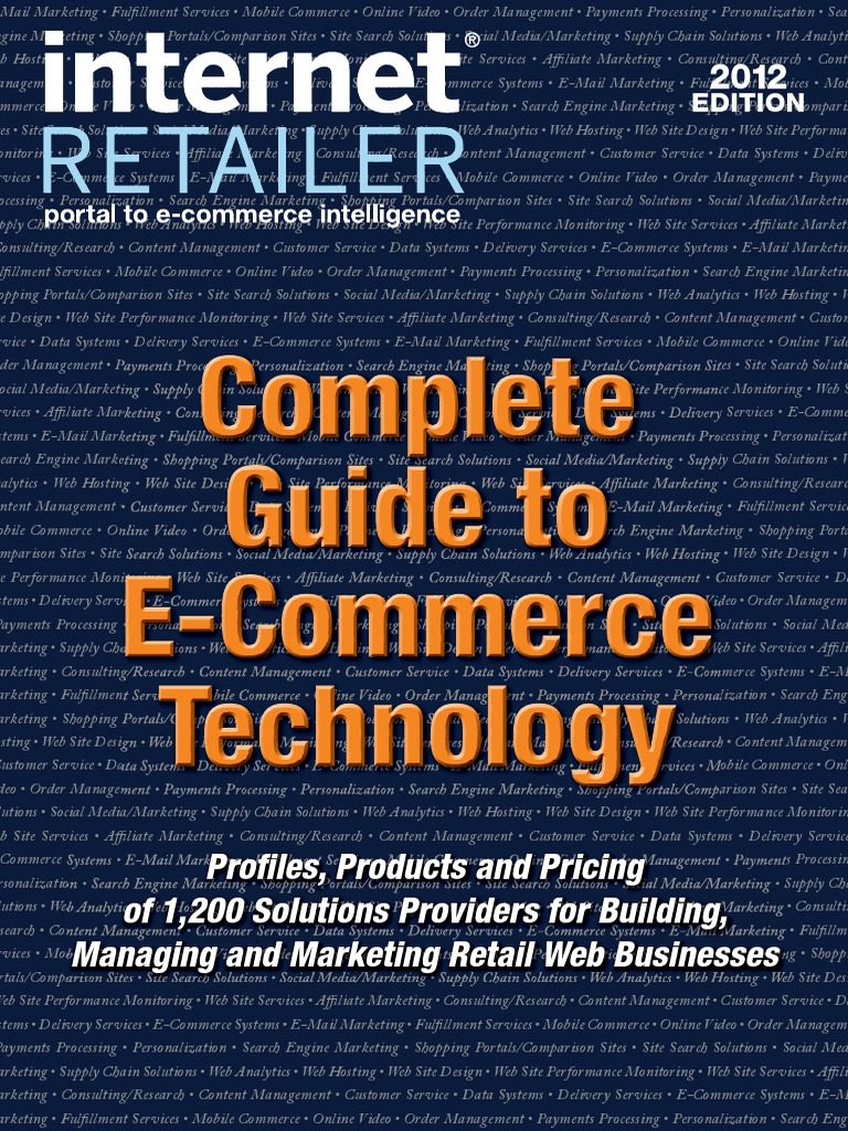 Complete guide to e commerce technology e commerce online shopping fandeluxe Choice Image