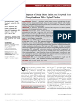 The Impact of Body Mass Index on Hospital Stay
