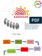 Project Mgnt. Aadhar card - UIDAI