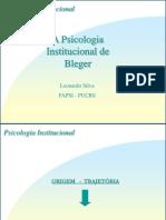 Psicologia Institucional de Bleger