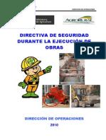 Propuesta Directiva _ Normas de Seguridad