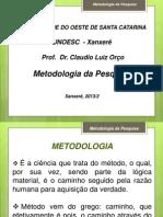 1. Metodologia e Passos Do Projeto 1