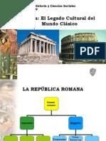 EL LEGADO CULTURAL DEL MUNDO CLÁSICO
