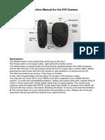 808 #16 Key Fob Camera Manual