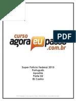 PDF AEP SPF2013 LinguaPortuguesa Apostila Parte02 EliCastro