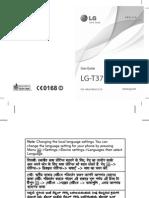 Manual Lg t375
