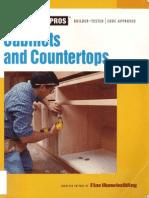 Cabinets and Countertops (Fine Homebuilding), Taunton Press (2006)