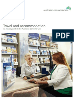 travel  accommodation - an industry guide to the australian consumer law 0