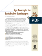 (Gardening) Basic Design Concepts for Sustainable Landscapes