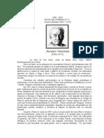 Ficha de cátedra N° 2 Jacques Maritain