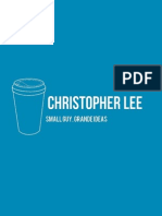 Sid Lee Strategy Internship - Chris Lee