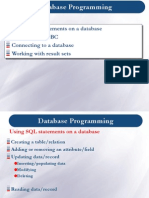 Database Programming - Lecture