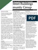 Cork Street Buildings Newsletter October 2009