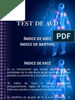 TEST DE AVD