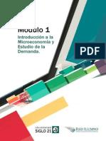 Lectura 1 - Introducción a la Microeconomía y Estudio de la Demanda