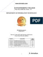 Pqt Anna University Notes Kinindia