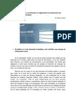 Medios Se Interesan en Reglamentar La Conducta de Sus Periodistas en Redes Sociales (Informativo)