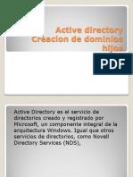 Presentation - Active Directory