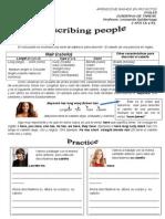 Describing People 02