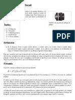 Distancia Hiperfocal - Wikipedia, La Enciclopedia Libre