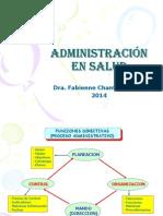 administración sanitaria