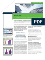 Staad Pro Data Sheet